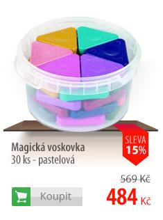 Magické voskovky pastelové kyblík