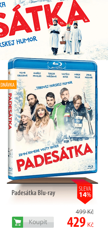 Padesátka Blu-ray