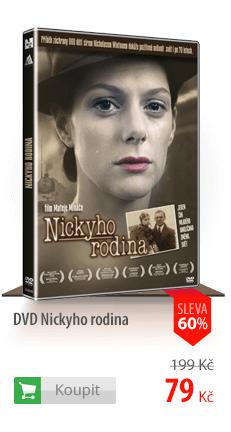 Nickyho rodina DVD