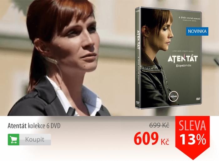 Atentát kolekce 6 DVD