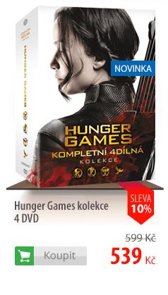 Hunger Games kolekce 4 DVD