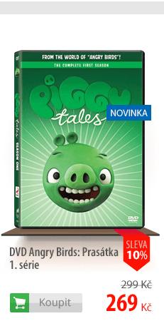 Angry Birds Prasátka DVD