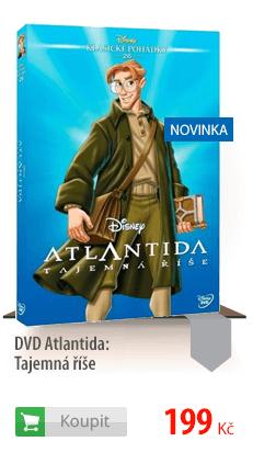Atlantida Tajemná říše DVD