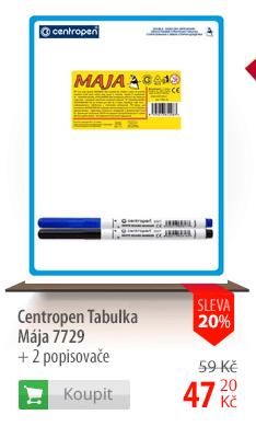 Centropen Tabulka Mája 7729