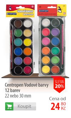 Centropen Vodové barvy