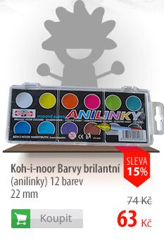 Koh-i-nor barvy vodové