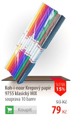 Koh-i-nor krepový papír