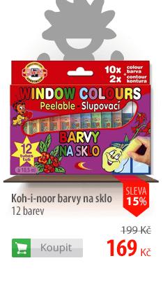 Koh-i-nor barvy na sklo