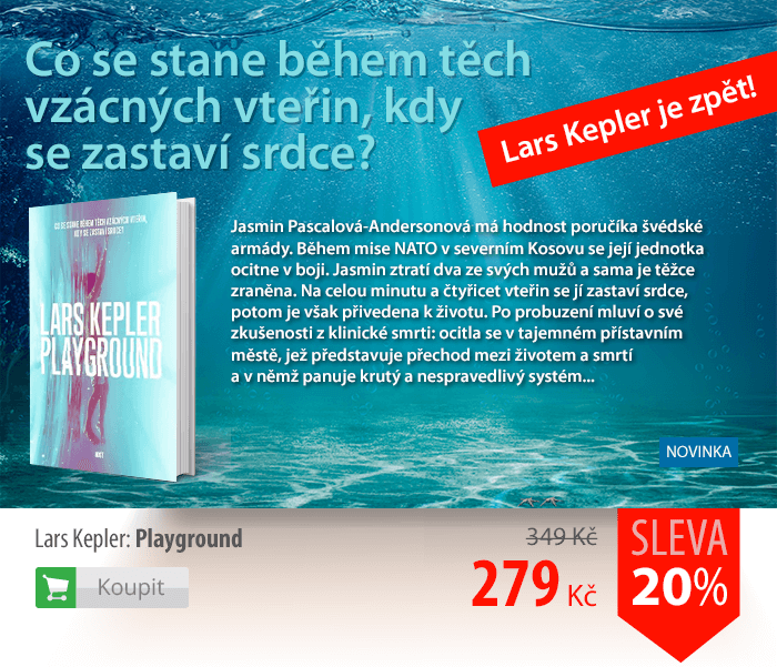 Lars Kepler Playground kniha