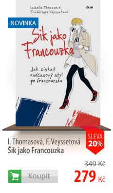 Šik jako Francouzka kniha