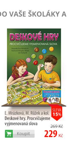 Deskové hry. Procvičujeme vyjmenovaná slova kniha