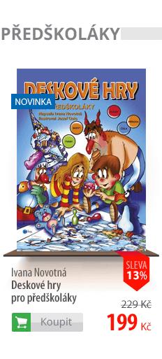 Deskové hry pro předškoláky kniha