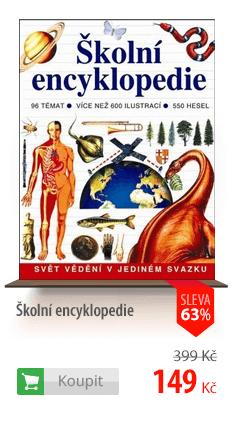 Školní encyklopedie kniha