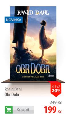 Roald Dahl Obr Dobr kniha