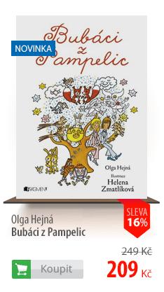 Olga Hejná Bubáci z Pampelic kniha