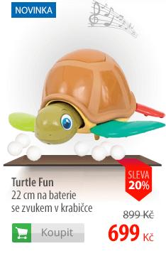 Turtle Fun na baterie