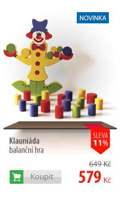 Klauniáda balanční hra