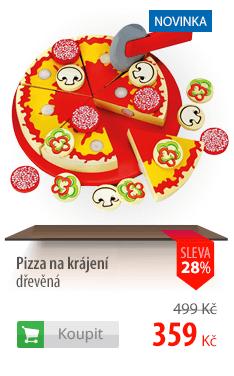 Pizza na krájení