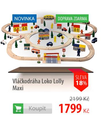 Vláčkodráha Loko Lolly Maxi