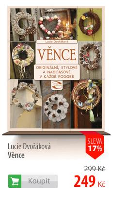 Lucie Dvořáková Věnce kniha