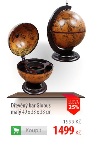 Dřevěný bar Globus malý