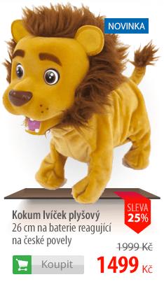 Kokum lvíček plyšový
