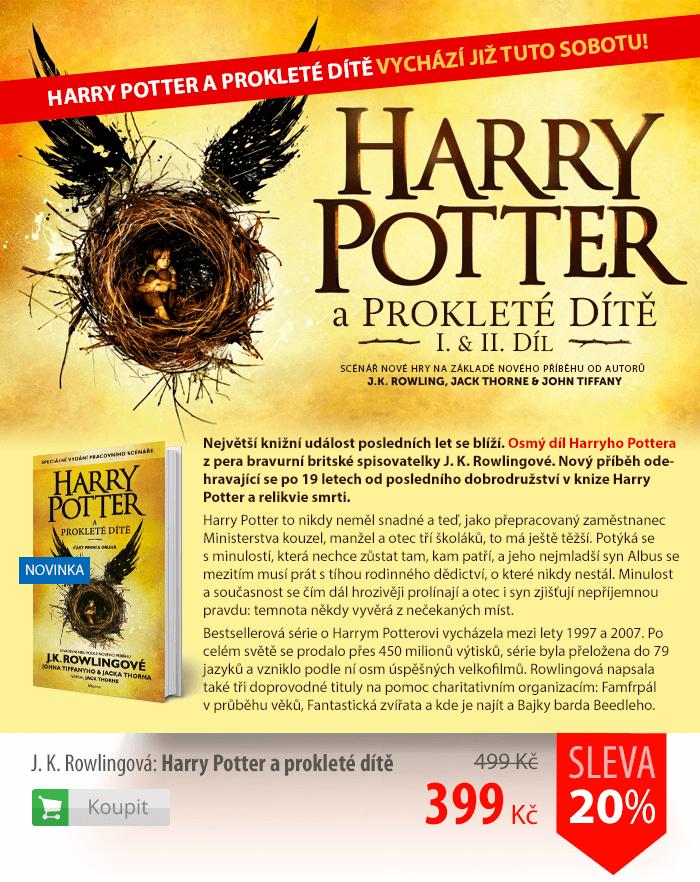 Harry Potter a Prokleté dítě I. a II. díl