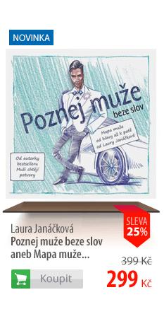 Laura Janáčková Poznej muže beze slov aneb Mapa muže...