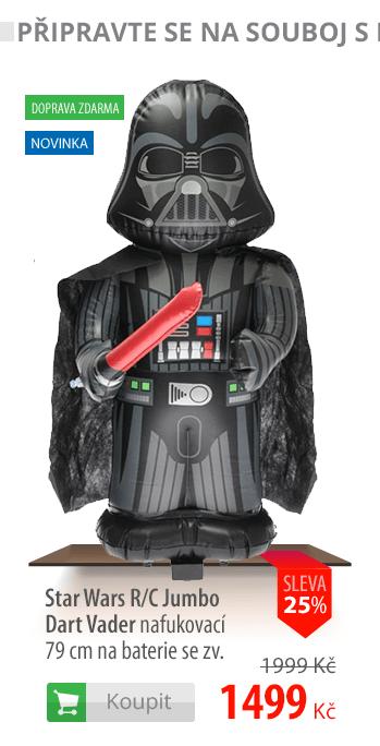 Star Wars R/C Jumbo Dart Vader nafukovací 79cm