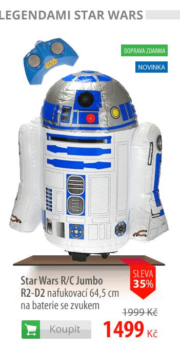Star Wars R/C Jumbo R2-D2 nafukovací 64cm