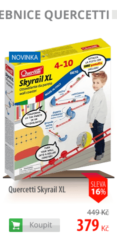 stavebnice Quercetti Skyrail XL