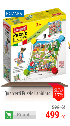 stavebnice Quercetti Puzzle Labirinto
