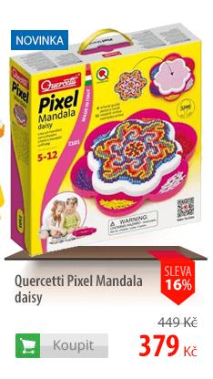 stavebnice Quercetti Pixel Mandala daisy