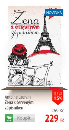 Antoine Laurain: Žena s červeným zápisníkem