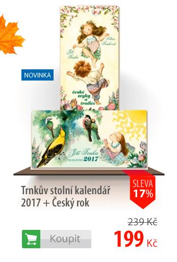 Trnkův stolní kalendář 2017 + Český rok