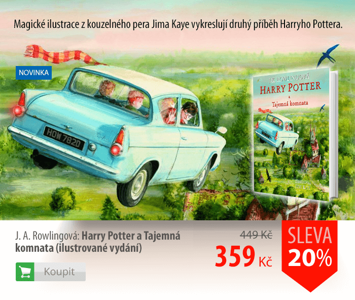 J.A.Rowlingová: Harry Potter a Tajemná komnata (ilustrované vydání)