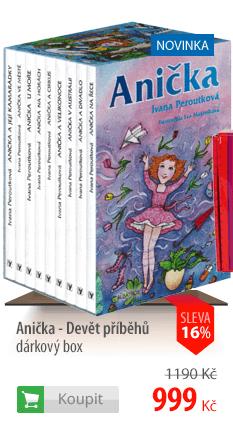 Anička-Devět příběhů dárkový box
