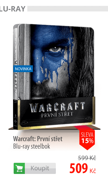 Warcraft: První střet Blu-ray steelbok