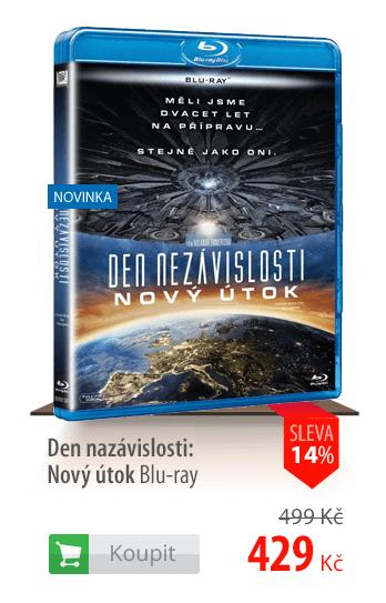 DVD Den nezávislosti: Nový útok Blu-ray