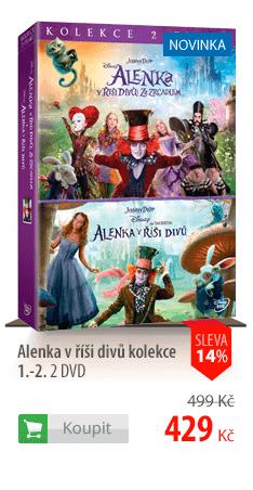 Alenka v říši divů kolekce 1.-2. 2 DVD