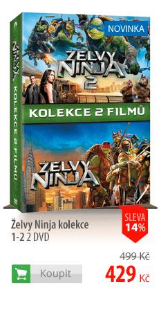 Želvy Ninja kolekce 1-2 2 DVD