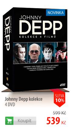 Johny Deep kolekce 4 DVD