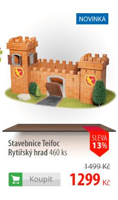 Stavebnice Teifoc Rytířský hrad 460 ks