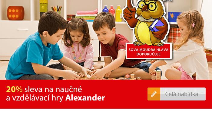 Naučné a vzdělávací hry Alexander