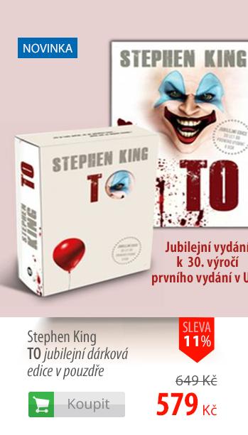 Stephen King: TO jubilejní dárková edice v pouzdře