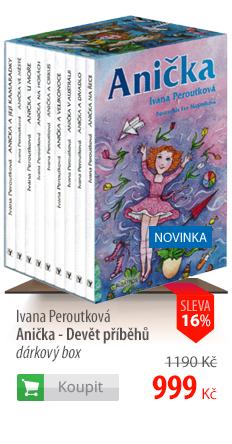 Ivana Peroutková: Anička - Devět příběhů dárkový box