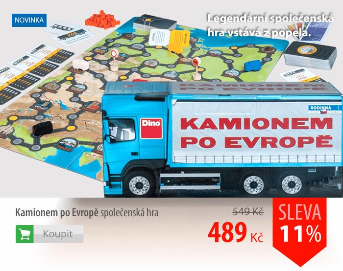 Hra Kamionem po Evropě
