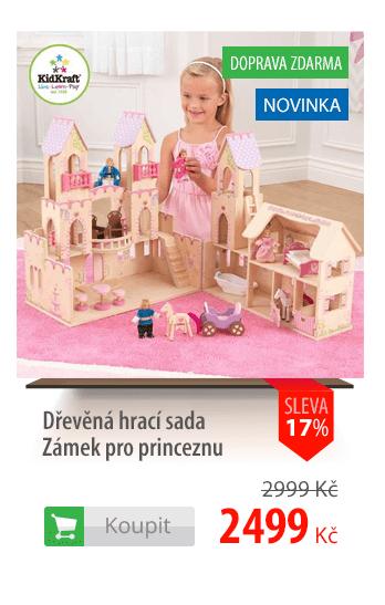 Dřevěný Zámek pro princeznu