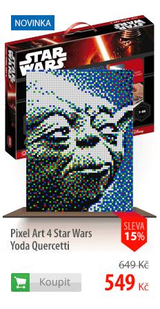 Pixel Art 4 Star Wars Yoda Quercetti