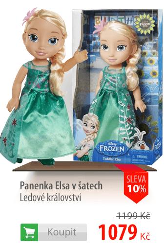 Panenka Elsa v šatech